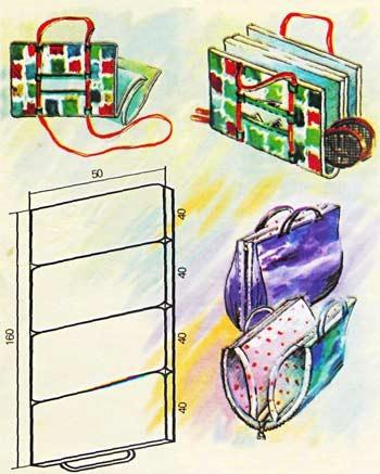 как сшить сумку лежак трансформер
