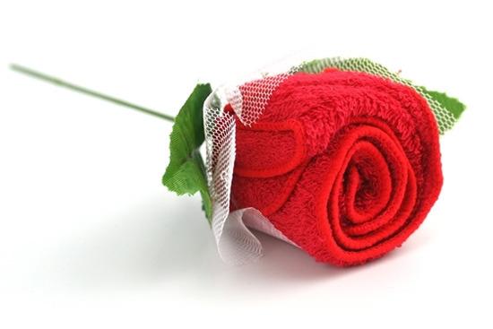 как сделать букет роз из полотенец