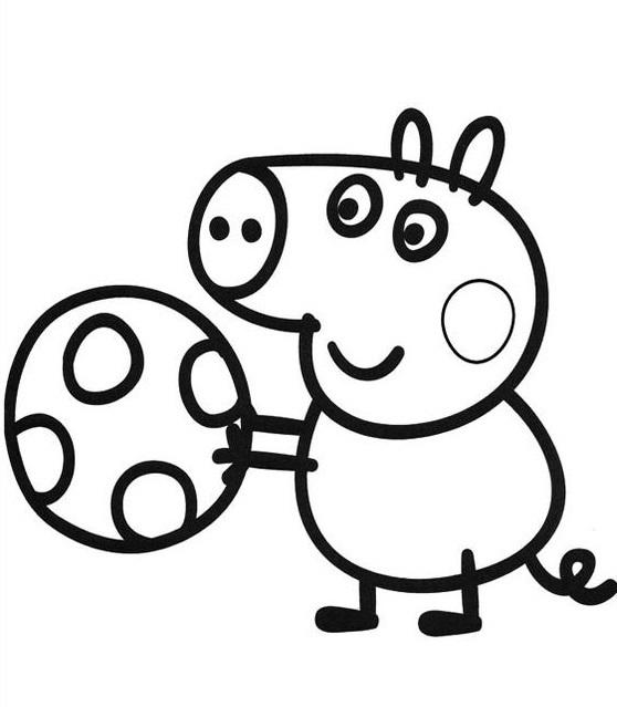 Смотреть раскраски свинки пеппы
