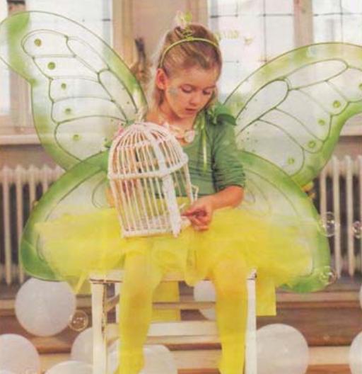 как сделать костюм бабочки