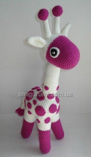 Для вязания жирафика нужно