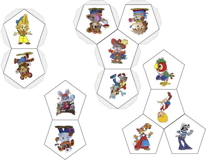 Объёмные поделки из бумаги схемы и шаблоны 797
