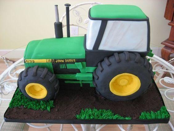 Торт трактор фото своими руками