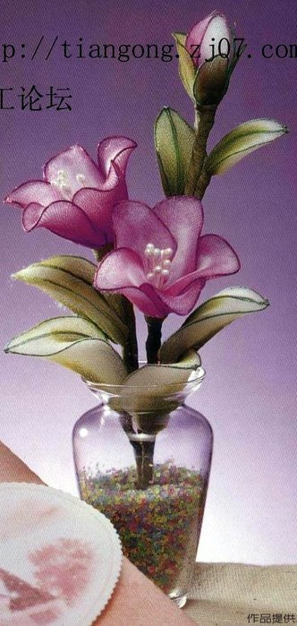 Как своими руками сделать цветы из