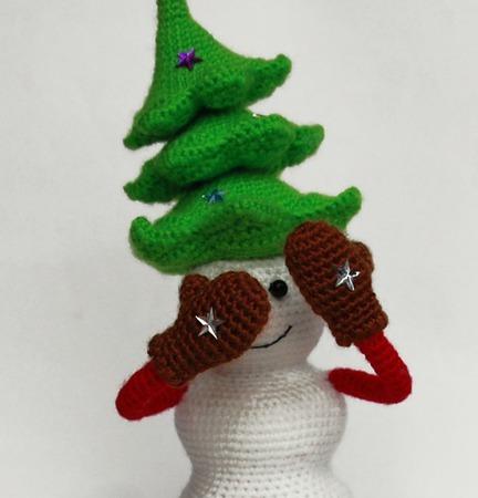 новогодние сувениры крючком схемы для вязания что связать в