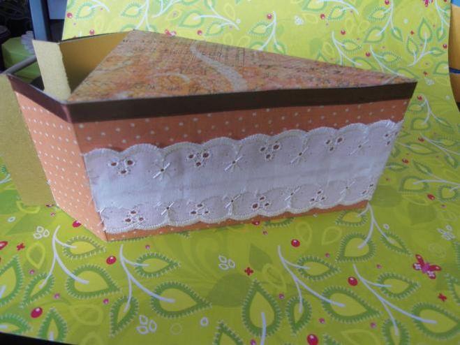 Упаковка для подарков торт 241