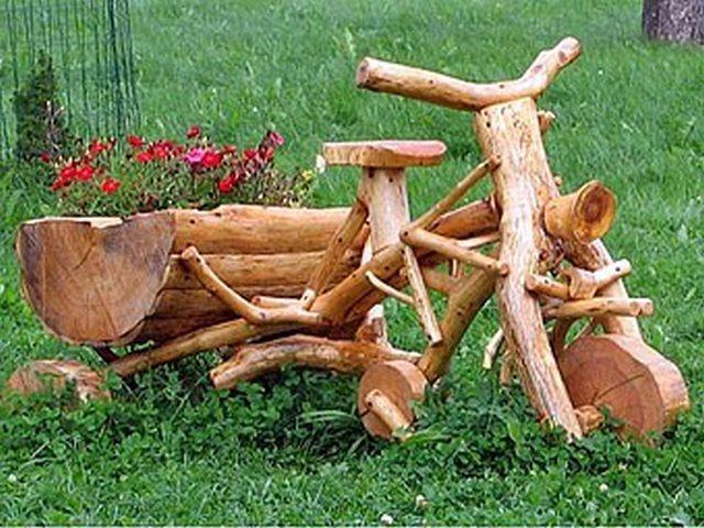 Фото деревянных поделок своими руками
