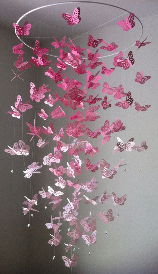 Как сделать бабочек своими руками фото