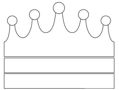 корона своими руками шаблон