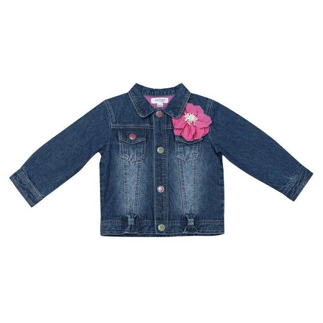 Джинсовая куртка для девочки сшить 775