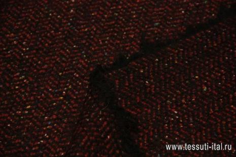 ткань пальтовая с искрой