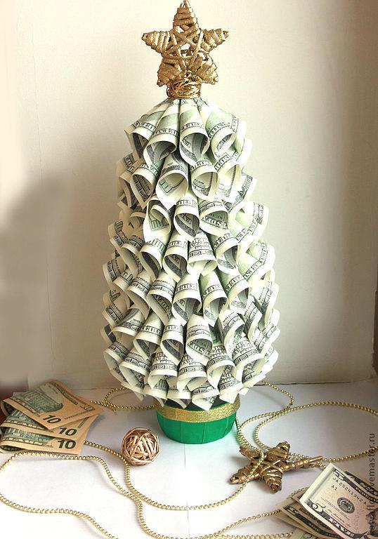 Как сделать денежная елка