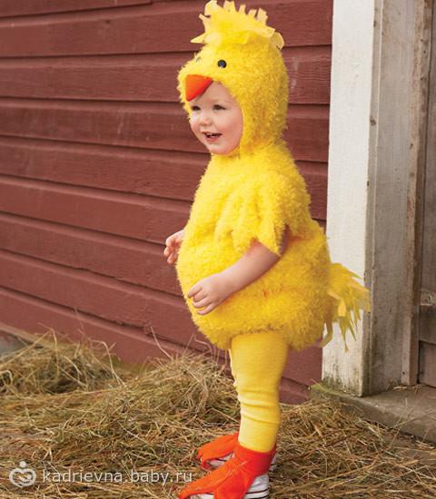 Костюм для курицы своими руками
