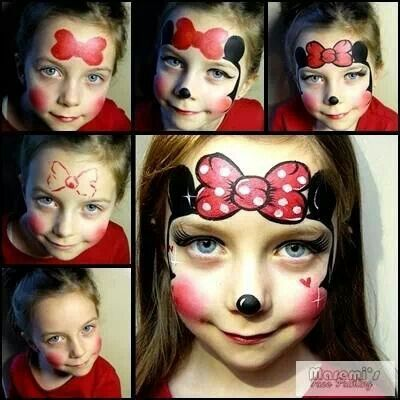 Mouse face paint ideas