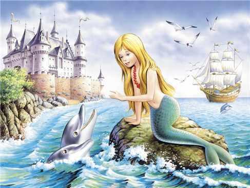Диафильм к сказке русалочка г х андерсон срисовать