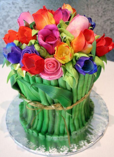 Красивые торты из мастики своими руками фото 458