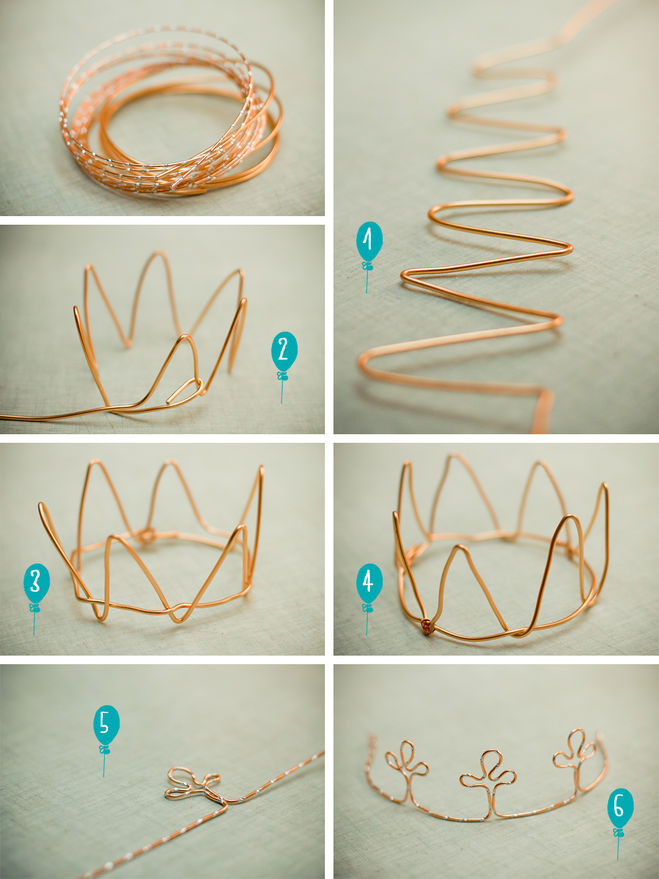 Сделать корону своими руками 10