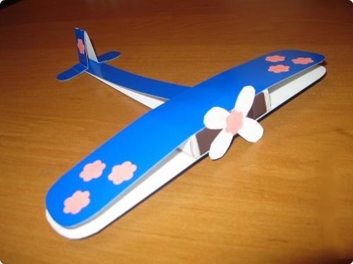 поделка своими руками к 23 февраля, самолет, самолетик
