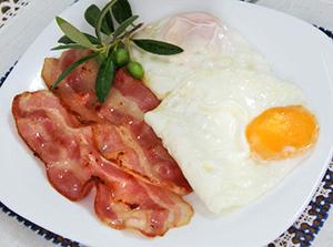 не полезный завтрак