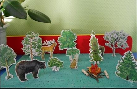 Макет леса своими руками фото 996