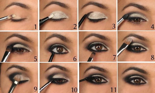 Видео как сделать макияж глаз - Gmpruaz.ru