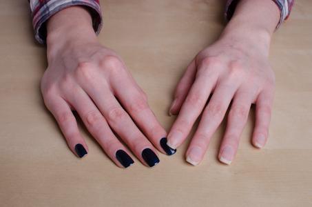 Сделать ногти шеллак самой