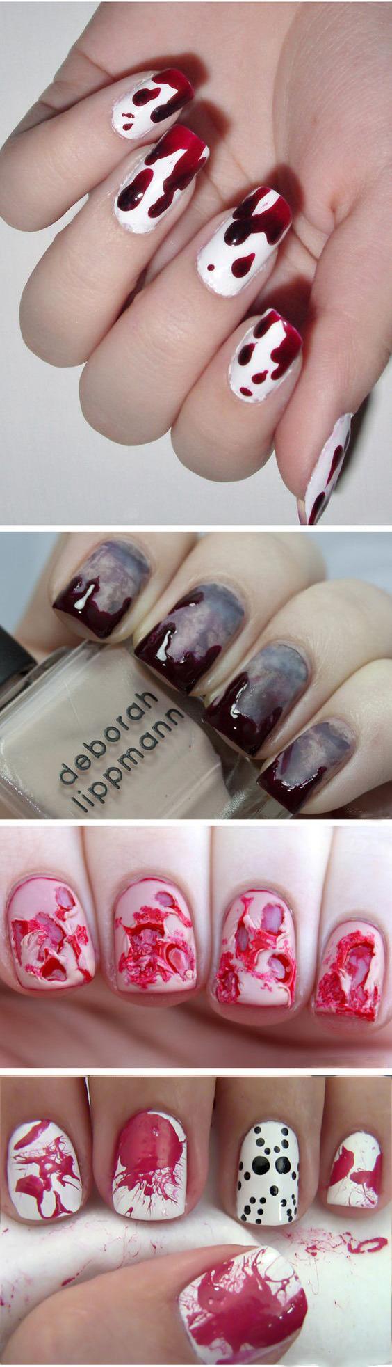 Рисунки на ногтях пошаговая фото