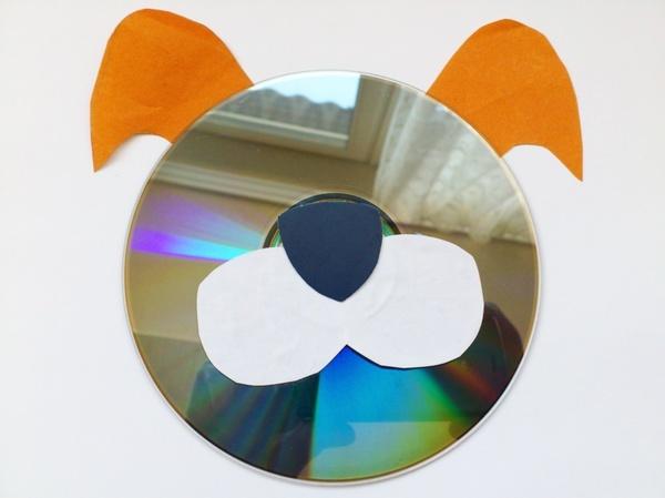 Значки из дисков своими руками 31