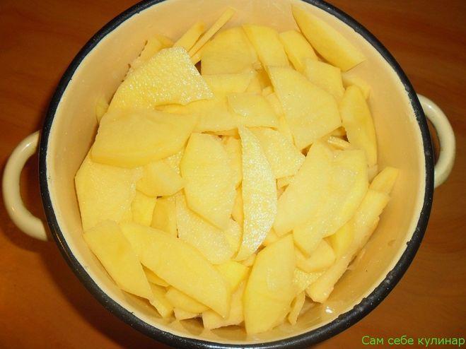 можно ли картошку на ночь в воде оставить