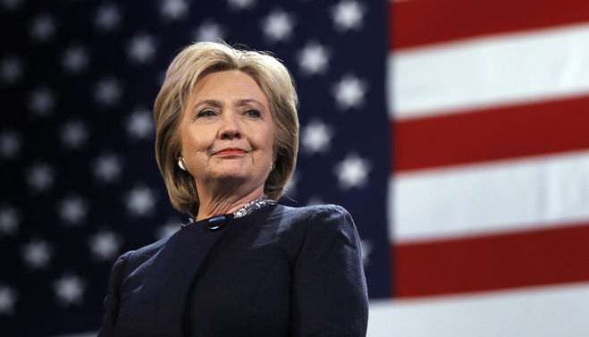 Хиллари Клинтон стала первой женщиной-президентом США?