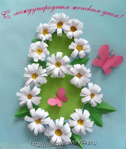 Подарок маме на 8 марта своими руками детский сад
