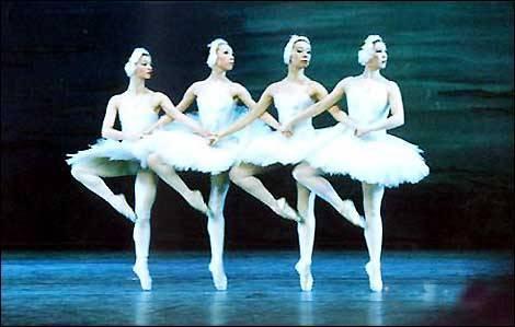 """балет """"Лебединое озеро"""" фото, видео"""