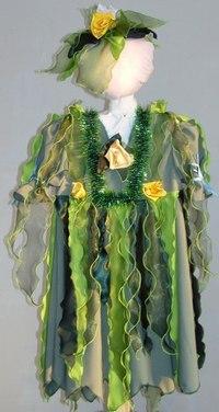106Для девочки костюм кикиморы своими руками