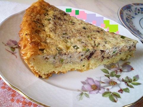 Рецепт заливного пирога с рыбными консервами