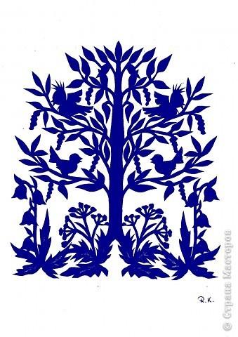 вытынанка дерево6