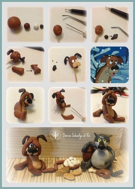 Сделать своими руками фигурку из шоколада в