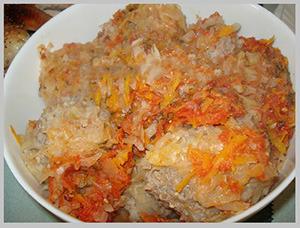 Рецепты тушеной капусты с тефтелями