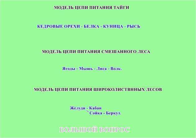 Схема питания характерная для черноморского побережья кавказа фото 119