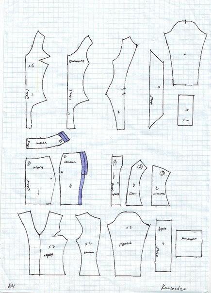 Дефиле игрушек как шить одежду для кукол журнал 53