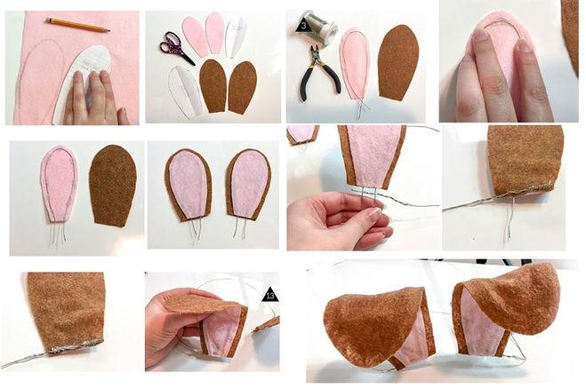 Из чего можно сделать уши чебурашки своими руками фото 774