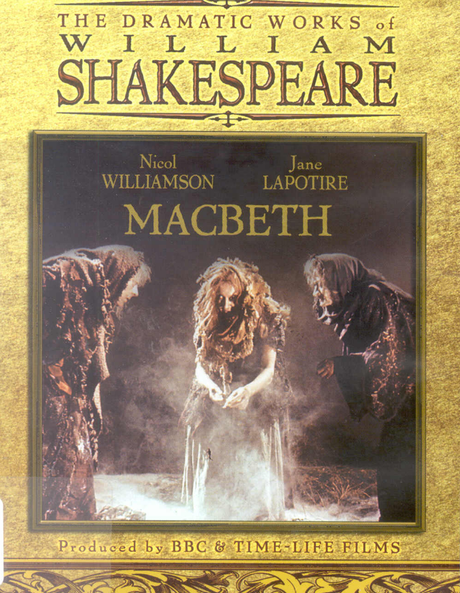 a literary analysis of imagery in the play macbeth by william shakespeare