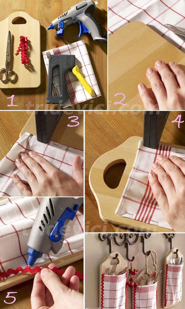 Как сделать органайзер для кухни своими руками
