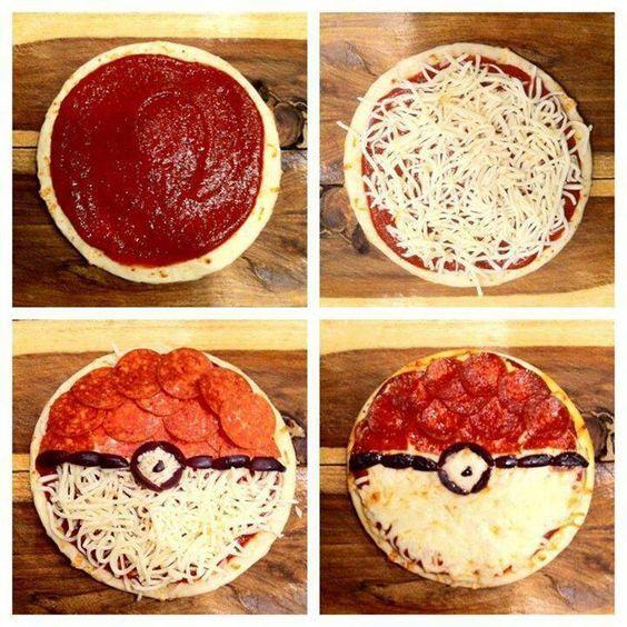 вечеринка Покемон Пати украшение пиццы