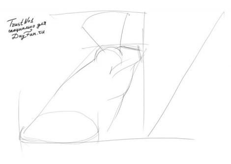 Как нарисовать сказку царевна лягушка и иван царевич
