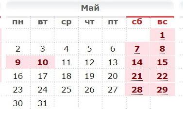 Календарь юбилеев на 2012 год