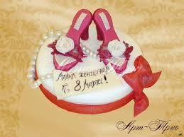 как украсить десерт на 8 марта