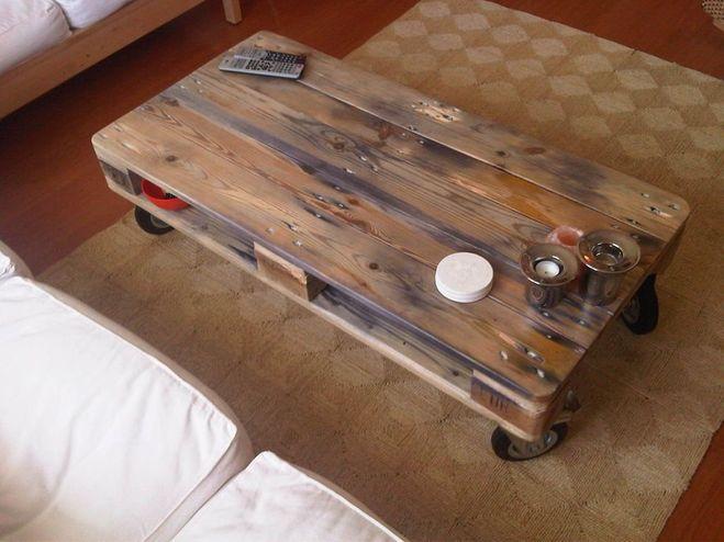 Сделать журнальный столик из дерева своими руками