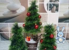 новогодний топиарий елочка