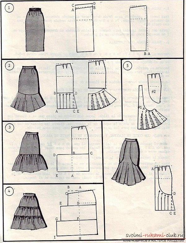 прозрачные плиссированные юбки