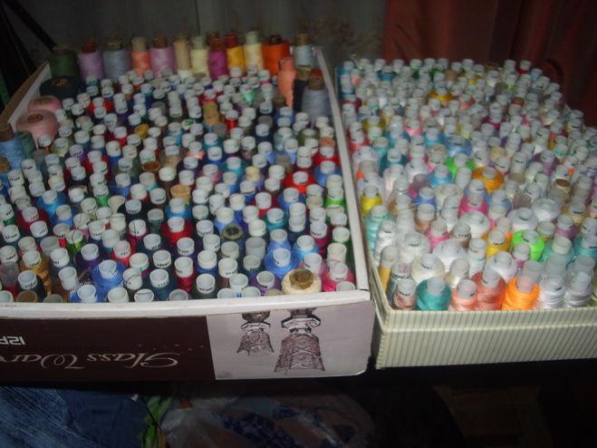 Хранение ниток швейных своими руками 61